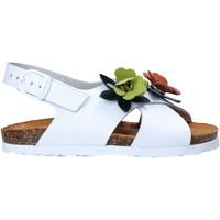Topánky Dievčatá Sandále Bionatura 22B 1047 Biely