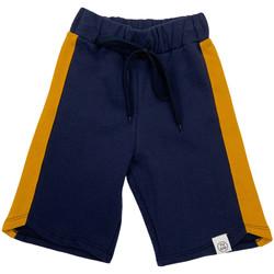 Oblečenie Deti Šortky a bermudy Naturino 6001022 01 Modrá