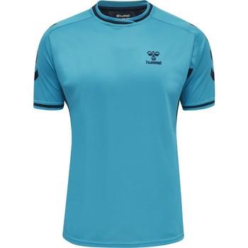 Oblečenie Tričká s krátkym rukávom Hummel Maillot  Poly hmlACTION bleu/bleu marine