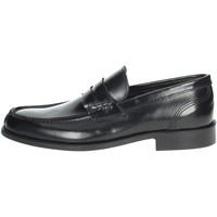 Topánky Muži Mokasíny Hudson 100 Black