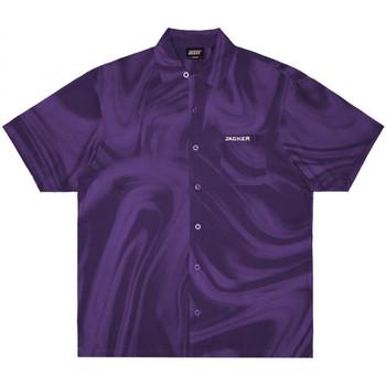Oblečenie Muži Košele s krátkym rukávom Jacker Purple potion Fialová