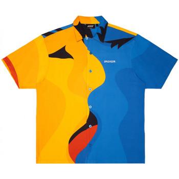 Oblečenie Muži Košele s krátkym rukávom Jacker Color passion Viacfarebná