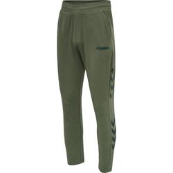Oblečenie Muži Tepláky a vrchné oblečenie Hummel Jogging  hmlLegacy Tapered vert/noir