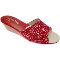 Topánky Ženy Šľapky Milly MILLY103zebraros rosso
