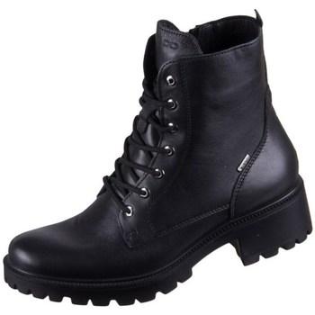 Topánky Ženy Polokozačky IgI&CO Donna Gianna Gtx Čierna