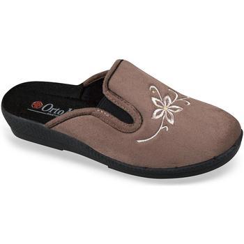 Topánky Ženy Papuče Mjartan Dámske papuče  MERIDA hnedá