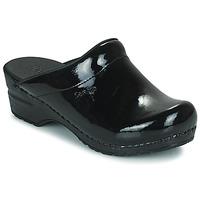 Topánky Ženy Nazuvky Sanita SONJA OPEN čierna