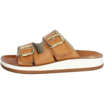 Topánky Ženy Šľapky Novaflex FALOPPIO Brown leather