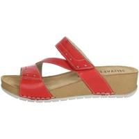 Topánky Ženy Šľapky Novaflex FALERONE Red