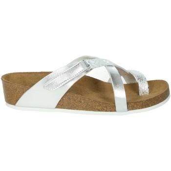 Topánky Ženy Žabky Novaflex BREGANO Silver