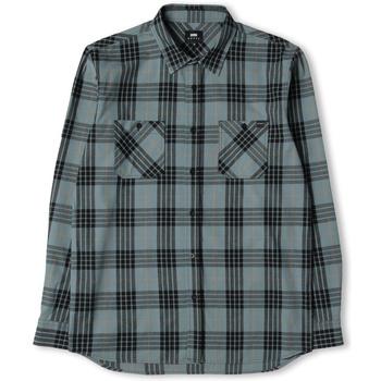 Oblečenie Muži Košele s dlhým rukávom Edwin Chemise  Labour gris/noir