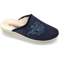 Topánky Ženy Papuče Mjartan Dámske modré papuče  HELENKA modrá