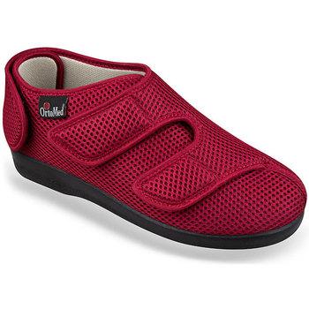 Topánky Ženy Papuče Mjartan Dámske červené papuče  TINA červená