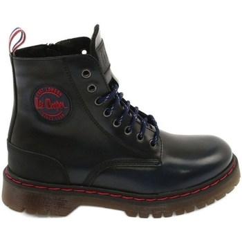 Topánky Ženy Polokozačky Lee Cooper LCJPL2001014 Čierna