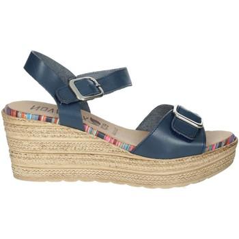 Topánky Ženy Sandále Novaflex BARBATA Blue