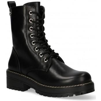 Topánky Ženy Polokozačky Etika 55076 Čierna