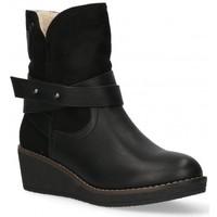 Topánky Ženy Čižmičky Etika 55086 Čierna