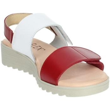 Topánky Ženy Sandále Novaflex BASILIANO White/Red