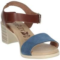 Topánky Ženy Sandále Novaflex BARBIANELLO Brown leather