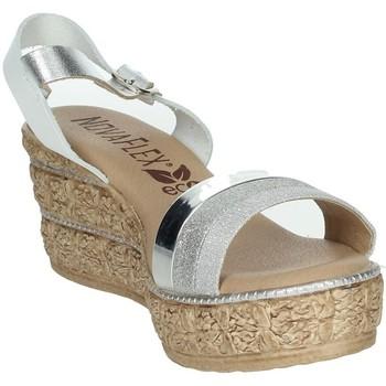 Topánky Ženy Sandále Novaflex BARATILI White/Silver