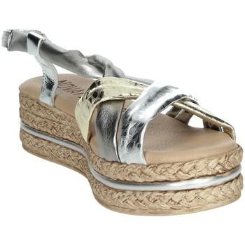 Topánky Ženy Sandále Novaflex BARASSO Silver/Gold