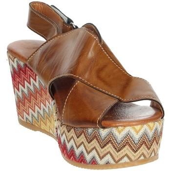Topánky Ženy Sandále Novaflex AZEGLIO Brown leather