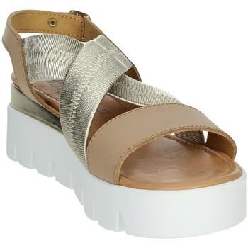 Topánky Ženy Sandále Novaflex AGRA Brown leather