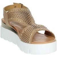 Topánky Ženy Sandále Novaflex AGRATE Brown leather