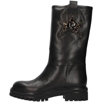 Topánky Ženy Čižmičky Vsl 7185/INN BLACK