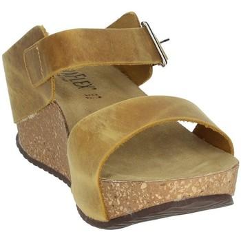 Topánky Ženy Šľapky Novaflex ANNICCO Mustard