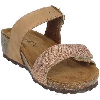 Topánky Ženy Šľapky Novaflex ANDEZENO Brown leather
