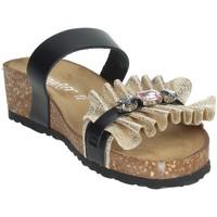 Topánky Ženy Šľapky Novaflex ADRANO Black/Gold