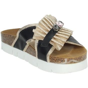 Topánky Ženy Šľapky Novaflex ACRI Black/Gold