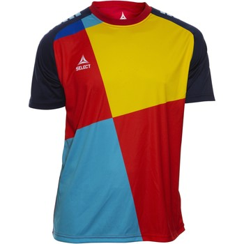 Oblečenie Chlapci Tričká s krátkym rukávom Select T-shirt enfant  Player Pop Art bleu/jaune/rouge