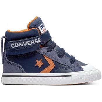 Topánky Deti Členkové tenisky Converse Pro blaze strap hi Modrá