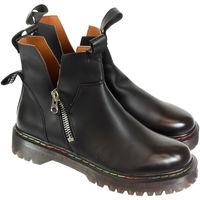 Topánky Ženy Čižmičky Bella Paris Dámske čierne čižmy BERELA PARIS čierna