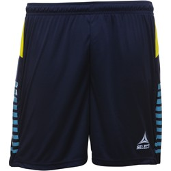 Oblečenie Chlapci Šortky a bermudy Select Short enfant  player pop art bleu marine/bleu clair/jaune