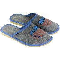 Topánky Ženy Papuče John-C Dámske sivé papuče BARIE tmavosivá