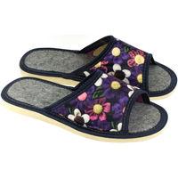 Topánky Ženy Papuče John-C Dámske fialové papuče ALLA mix