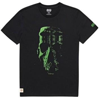 Oblečenie Muži Tričká s krátkym rukávom Globe T-shirt  Refuse Skull noir