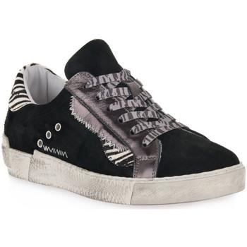 Topánky Ženy Nízke tenisky At Go GO 4102 VELOUR NERO Nero