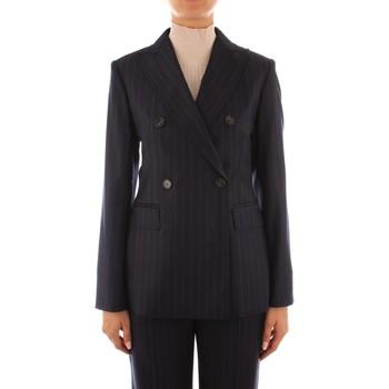 Oblečenie Ženy Saká a blejzre Maxmara Studio SALITA BLUE