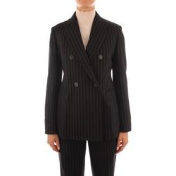 Oblečenie Ženy Saká a blejzre Maxmara Studio SOLEDAD BLACK