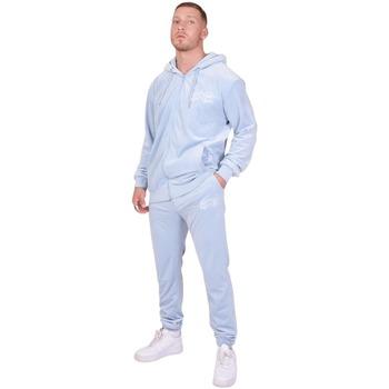 Oblečenie Muži Súpravy vrchného oblečenia Project X Paris Jogging Velvet Logo bleu ciel
