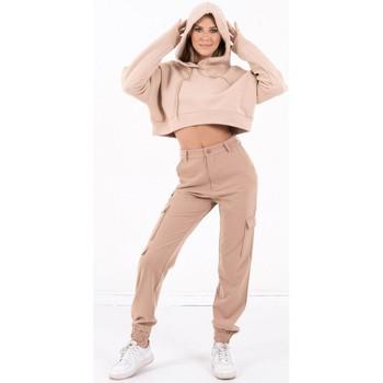 Oblečenie Ženy Mikiny Sixth June Sweatshirt Crop Top femme  Acid Printed beige