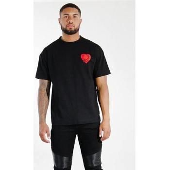 Oblečenie Muži Tričká s krátkym rukávom Sixth June T-shirt  Oversize noir