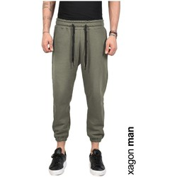 Oblečenie Muži Nohavice Xagon Man  Zelená