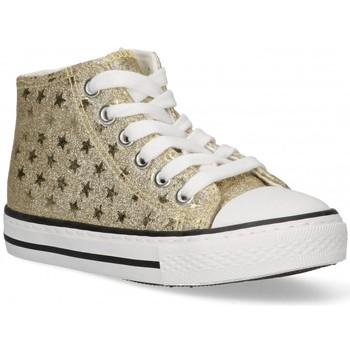 Topánky Dievčatá Členkové tenisky Bubble 58908 Zlatá
