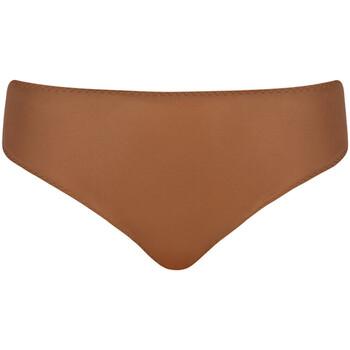 Spodná bielizeň Ženy Klasické nohavičky Curvy Kate CK017215 CARAMEL Hnedá