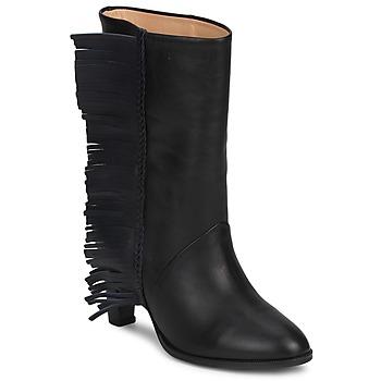 Topánky Ženy Čižmy do mesta MySuelly GAD Čierna